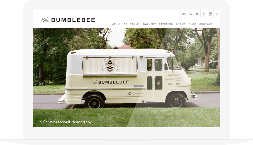 food truck website template koni polycode co