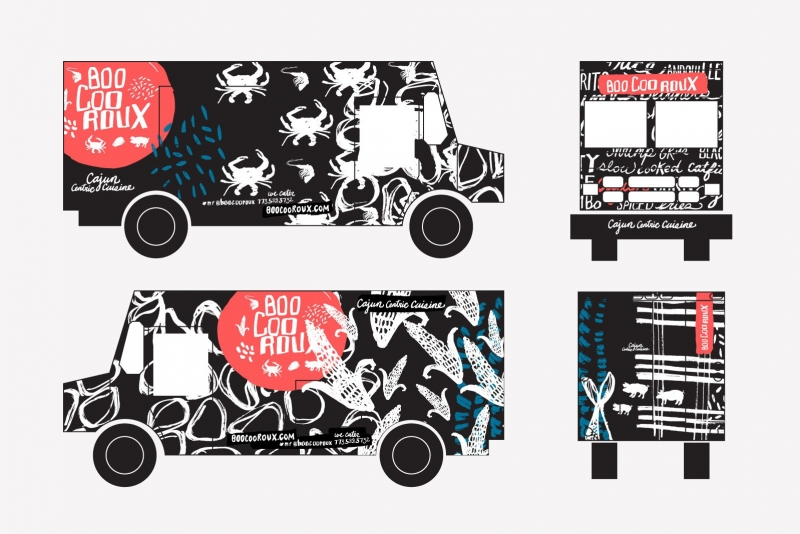 Food Truck Branding School Your Name And Logo Made For Food Trucks - Food truck design template