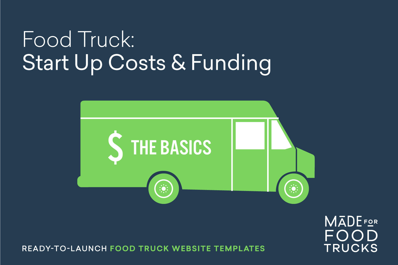 What Is The Start Up Cost For A Food Truck