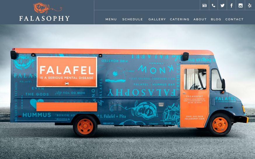 food truck website templates choose yours made for food trucks